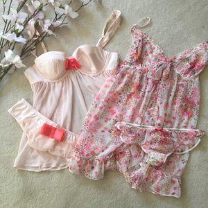 Victoria's Secret Pink Nighties -- Bundle of 2!